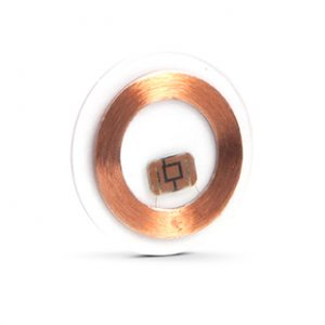RFID low frequency laminated copper disc
