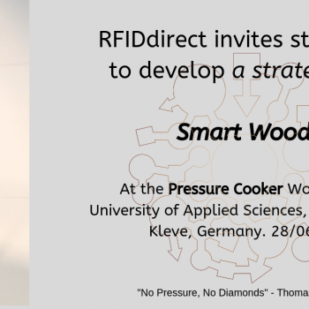 "RFID presenting at a student ""Pressure Cooker"" entrepreneurial workshop"
