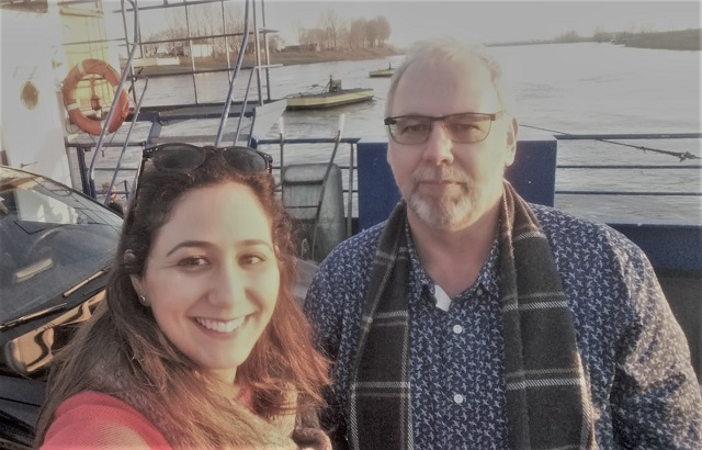 Mouna and Frits from RFIDdirect attend  a workshop in Kleve, Germany