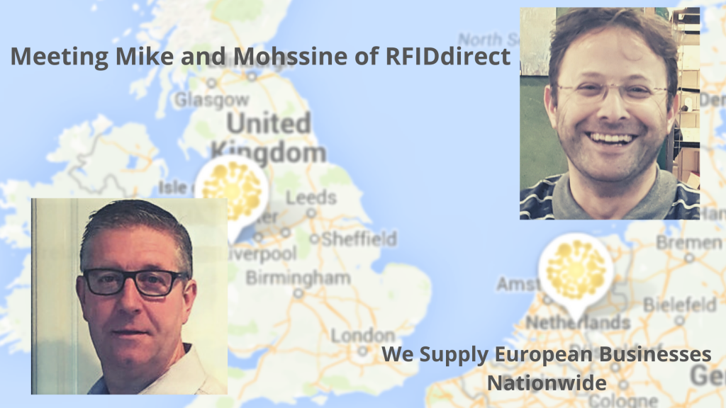 RFIDdirect.eu introduce two new employees to their German and UK offices