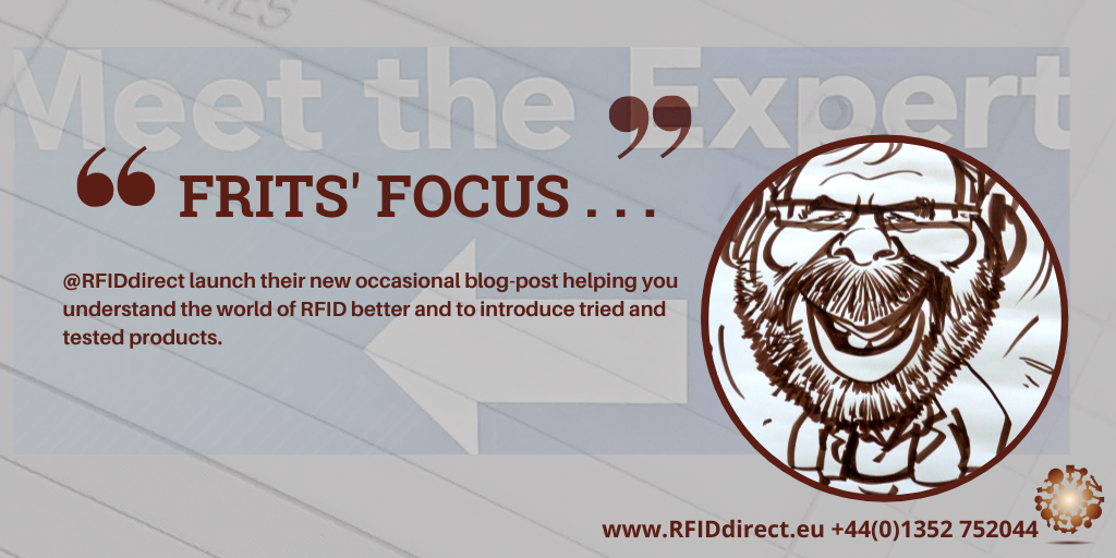 lanunch of Frits van calker's blog post about the world of RFID